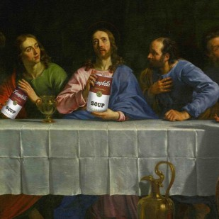 La cene - the Last Supper. Canvas, 158 x 233 cm INV. 1724